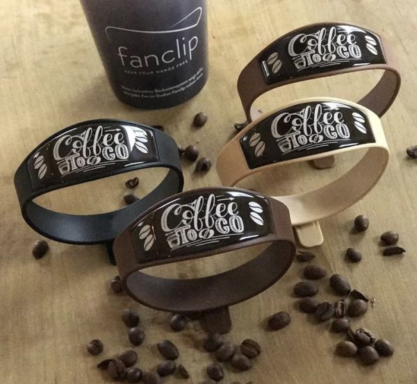 Fanclip Basismodul Design: Coffee to Go