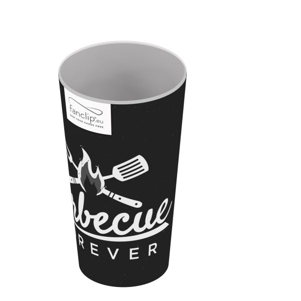 FANCLIP Becher: Barbecue Forever